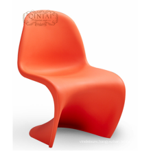 S shaped comfortable leisure chair without cushion