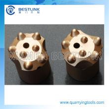 Bocados de botão afilados da perfuração do furo pequeno do fabricante para minar