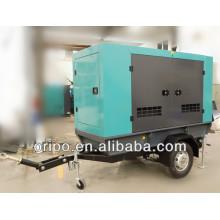 50kw gerador diesel móvel para venda com motor cummins