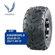 pneu pour VTT 2 plis 22 x 9-10 22 x 11-10