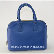 European Blue Factory Latest Italian Genuine Leather Handbag (ZX10044)