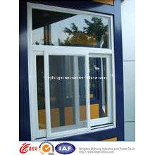 Ventana deslizante de aluminio / PVC comercial residencial de la venta caliente