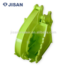 Mini excavator rock grab bucket