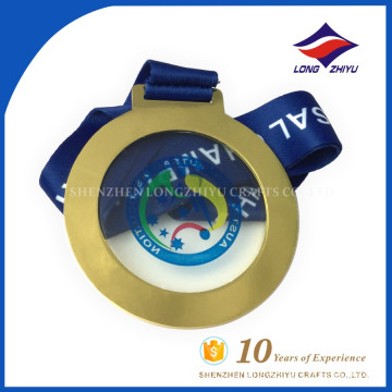 2017 Custom design Futsal soccer championship award medal