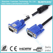 Alta calidad OEM 15pin macho a macho Cable VGA