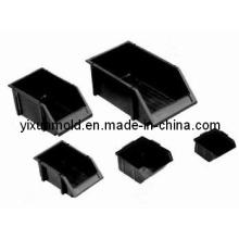 Molde plástico antiestático da caixa das peças