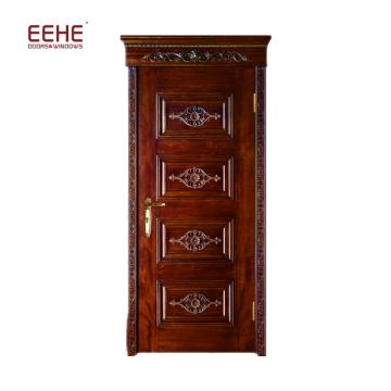 Alibaba chine fournisseur coupe-feu porte en bois ignifuge fabricant de porte en bois