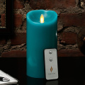 5 Inch Vanilla scent luminara flameless pillar candle set