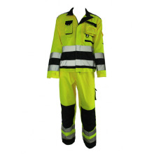 Best Price for for Work Suit Fluorescence Green Reflective Work Suit export to Moldova Suppliers