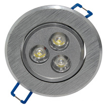 1*3W LED Round Home Interior Ceiling Down Light