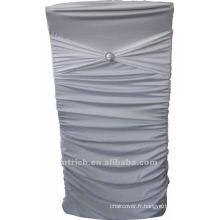 couverture de chaise universelle, usine de housse chaise CTS768 vogue, 200GSM meilleur tissu lycra