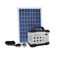 DC 12v 5w 4ah solar home system for fan mobile phone supplier 5w/12v home solar system for home lighting