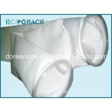 Bolsa de filtro líquido de superficie lisa PE para tratamiento de aguas residuales