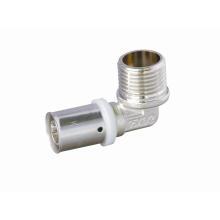 Coude mâle (raccord à pression) (HZ8112)