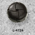 Black Football Leather Buttons for Jackets