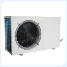 Sistema de bomba de calor de alta temperatura R134a evi