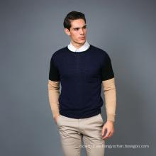 Suéter de la mezcla de la cachemira de la manera de los hombres 17brpv094
