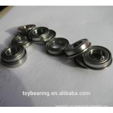 Fuente directa de la fábrica 2 * 6 * 2.3mm en miniatura f692 rodamiento de bolitas con bridas