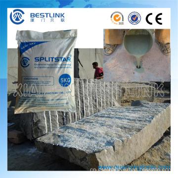 Soundless Safe Split Agent for Stone Cracking and Concrete Demolition