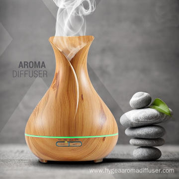 Mist Mode Wholesale Wood Aromatherapy Diffuser 400ml