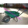 plastic tray wheelbarrow with 13x3 air wheel