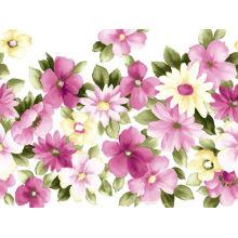 Neueste Xiamen Segeltuch-Blume Diy handgemachte Wand-Kunst