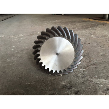 Forging and Machining Bevel Gear Shaft