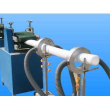 Tubulação de espuma EPE e barra que faz a máquina