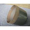 pedacito de taladro de diamante sinterizado de 64 mm para taladrar vidrio
