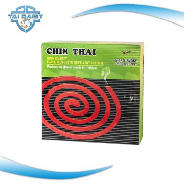 Humo negro de la bobina del mosquito de China