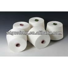 hilado de algodón puro de los hilados de trabajo 45s de los guantes
