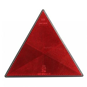 UV PC E4 LED Screaming Triangle Warning Reflectors