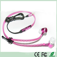 Elegantes Design Metall In-Ear-Stereo-Headset Kopfhörer-Reißverschluss (K-916)