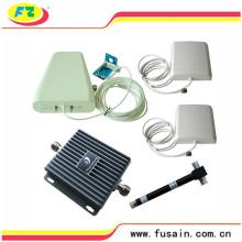 Impulsionador completo do sinal do telefone móvel do grupo da faixa dupla de 850MHz / 1900MHz para a grande cobertura da casa ou do escritório