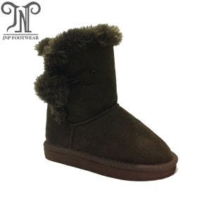China Factory for for Toddler Sheepskin Boots Brown Cheap Boys Childrens Suede Furry Boots supply to Benin Exporter