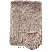 Silk Viscose & Feather Yarn Mix Shaggy