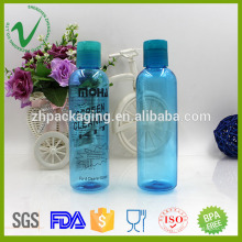Cylindre bouteille en PET de bouteille de parfum en bouteille de 120 ml transparent