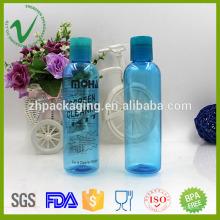 Cilindro perfume embalagem PET garrafa 120ml transparente por atacado
