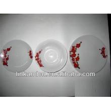Китай изготовляет 12pcs wintersweet керамические наборы плиты обеда