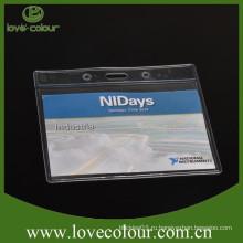 Оптовый мешок удостоверения личности карточки / оптовое PVC пластичный водоустойчивый держатель карточки