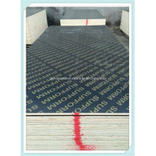 Black/Brown Film Faced Plywood with Melamine Glue for Construction Plywood Concrete Formwork