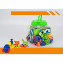 50PCS in Mini Bus Jar Building Block