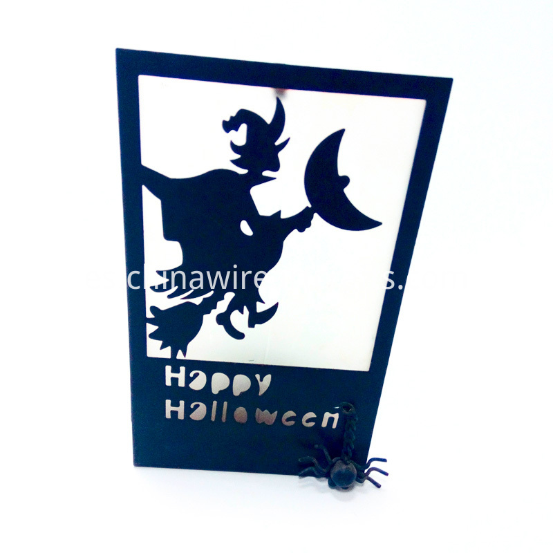 Halloween Witch Candle Holder