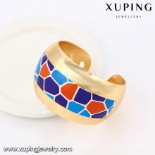 51471 Xuping Summery indischen Stil Gold Schmuck bunten Armreif für Verkauf