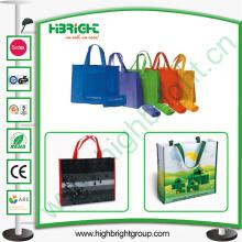 Bolso de compras no tejido de Colorfur para la tienda y el supermercado