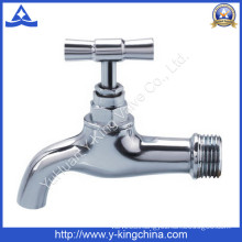 Polished Brass Water Tap with Brass Handle (YD-2024)