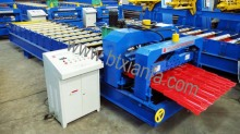 Roofing Steel glazed tile Roll Forming Machine