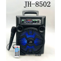 JH-8501 Professional Outdoor Party 8 Inch Woofer Karaoke Tv Loud Trolley Sound Speaker With LED Light