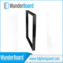 PS Photo Frame for Wunderboard Sublimation Aluminum Sheets Black Color