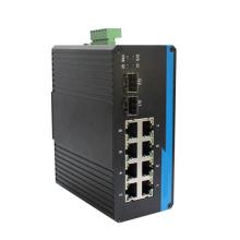 Convertisseur de média fibre Ethernet Duplex Poe rapide